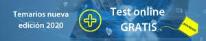 Temarios nueva edición + Test Online GRATIS